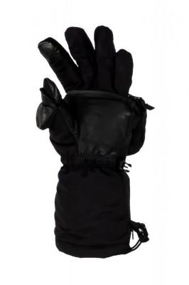 Варежки-митенки с внутренней перчаткой с подогревом